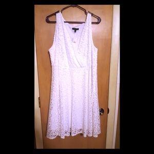 NWT Lane Bryant White dress